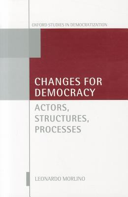 Changes for Democracy Actors, Structures, Processes  2011 edition cover