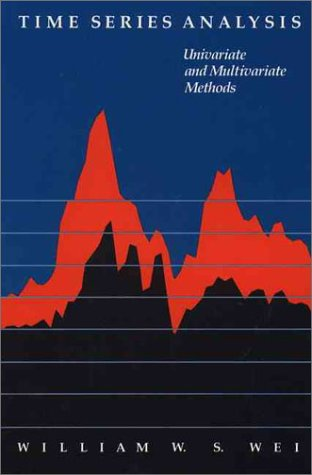 Time Series Analysis Univariate and Multivariate Methods  1990 edition cover