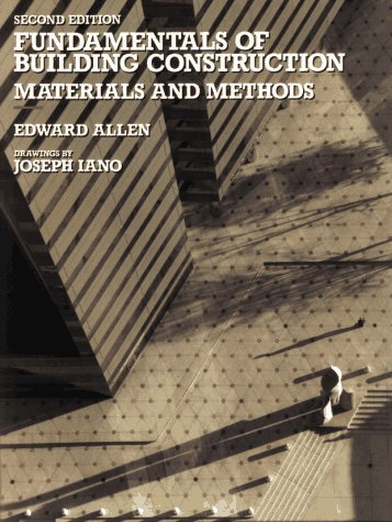 Building Construction Materials and Methods 2nd 1990 9780471509110 Front Cover