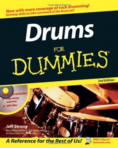 Drums for Dummies�  2nd 2006 (Revised) edition cover