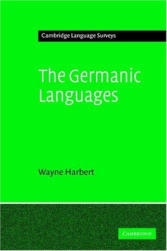 Germanic Languages   2007 edition cover