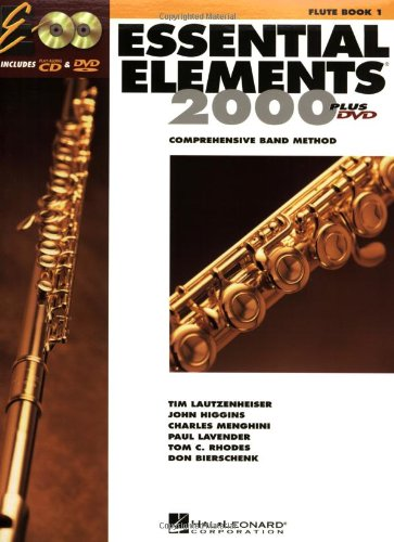 Essential Elements for Band Flute  2004 edition cover
