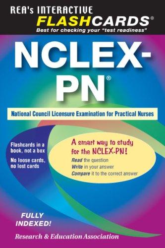 NCLEX-PN Flashcard Book  N/A edition cover