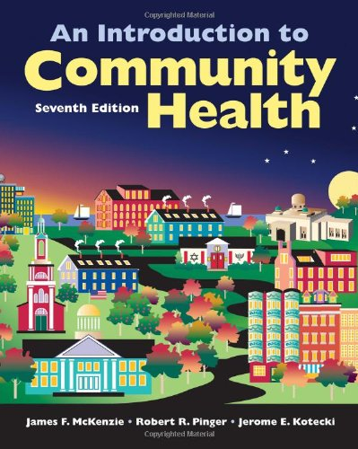 Introduction to Community Health  7th 2012 (Revised) edition cover