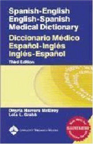 Spanish-English Medical Dictionary  3rd 2005 (Revised) edition cover