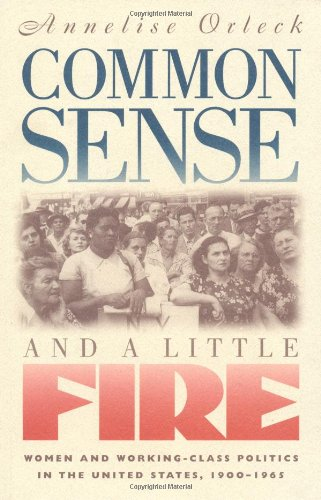Common Sense and a Little Fire Women and Working-Class Politics in the United States, 1900-1965  1995 edition cover