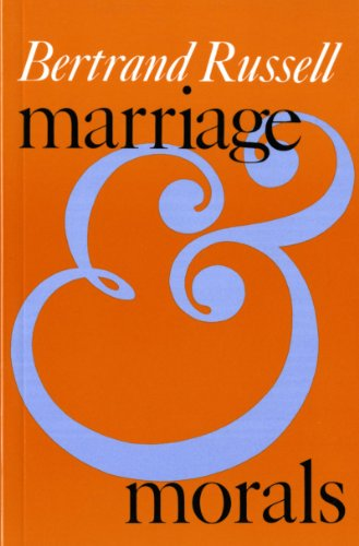 Marriage and Morals  N/A 9780871402110 Front Cover