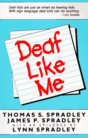 Deaf Like Me  Reprint edition cover