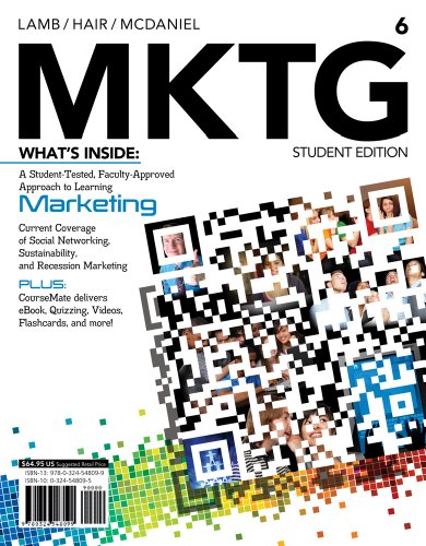 MKTG  6th 2013 edition cover