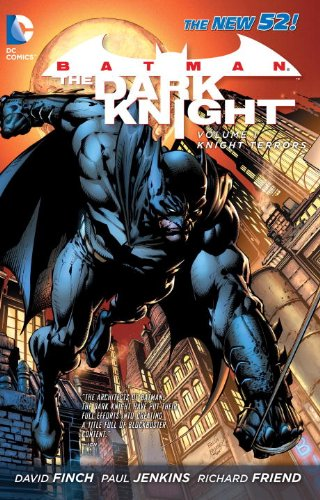 Batman: the Dark Knight Vol. 1: Knight Terrors (the New 52)   2012 9781401237110 Front Cover