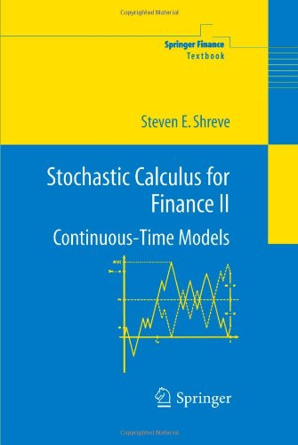 Stochastic Calculus for Finance II Continuous-Time Models  2004 edition cover