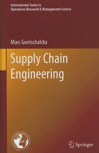 Supply Chain Engineering   2011 edition cover