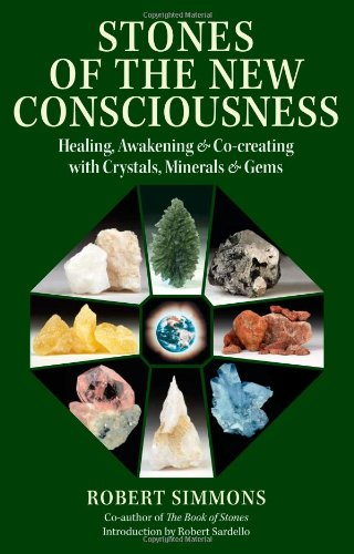 Stones of the New Consciousness Healing, Awakening and Co-Creating with Crystals, Minerals and Gems  2009 9781556438110 Front Cover