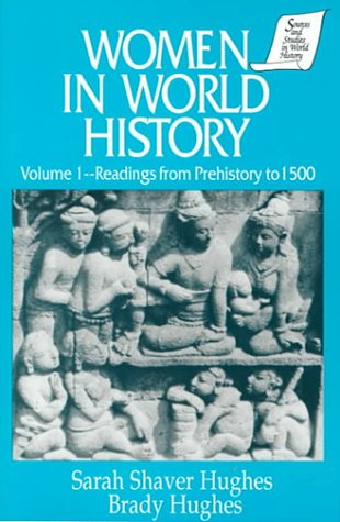 Women in World History Readings from Prehistory to 1500  1995 edition cover