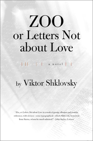 Zoo or Letters Not about Love   2001 (Reprint) edition cover