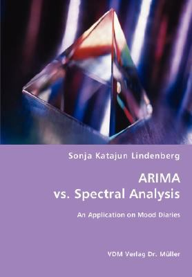 Arima vs. Spectral Analysis N/A 9783836466110 Front Cover