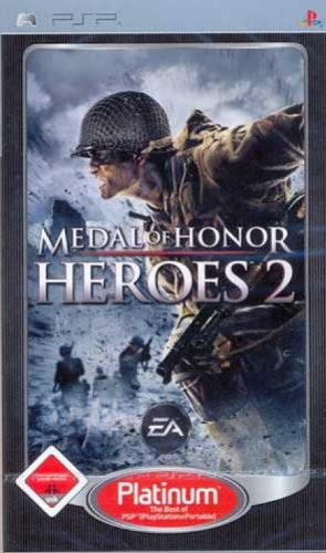 Medal of Honor Heroes 2 [Platinum] Sony PSP artwork
