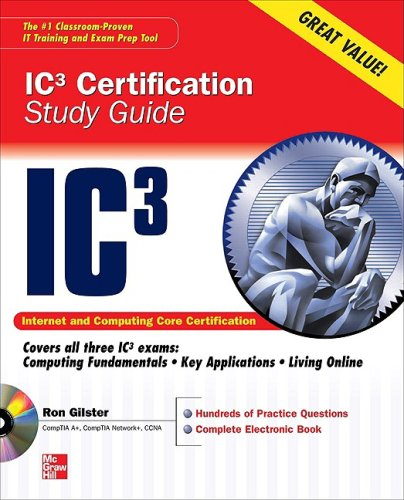 IC3 Certification   2010 (Student Manual, Study Guide, etc.) edition cover
