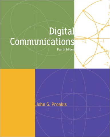 Digital Communications  4th 2001 (Revised) edition cover