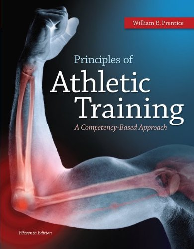 Principles of Athletic Training  15th 2014 edition cover