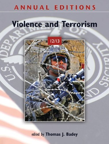 Annual Editions: Violence and Terrorism 12/13  13th 2012 9780078051111 Front Cover