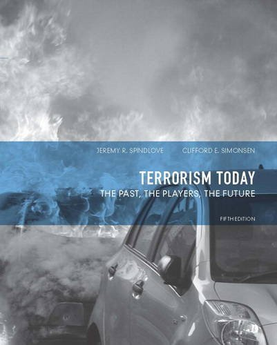 Terrorism Today The Past, the Players, the Future 5th 2013 (Revised) edition cover