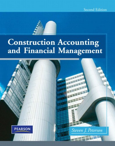 Construction Accounting and Financial Management  2nd 2009 edition cover
