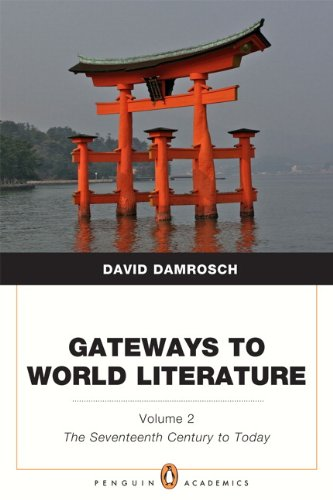 Gateways to World Literature The Seventeenth Century to Today  2012 (Revised) edition cover