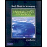 Study Guide for Understanding Psychology  9th 2010 9780205790111 Front Cover