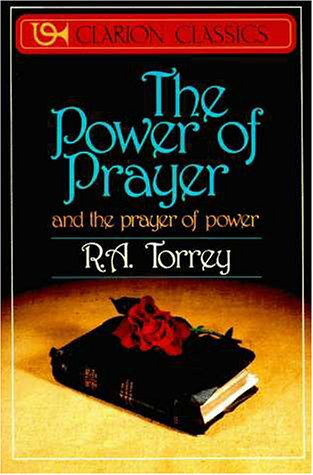 Power of Prayer And the Prayer of Power  1987 (Reprint) edition cover