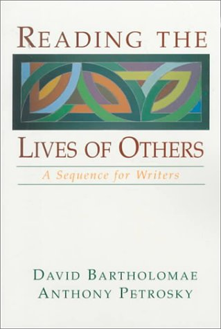 Reading the Lives of Others A Sequence for Writers N/A edition cover