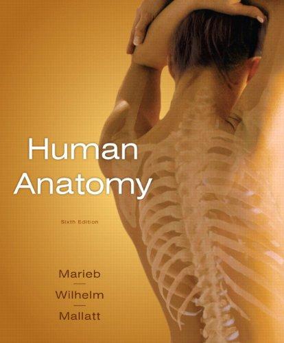 Human Anatomy  6th 2011 edition cover