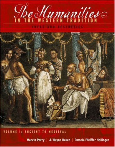 Humanities in the Western Tradition Ideas and Aesthetics  2003 edition cover