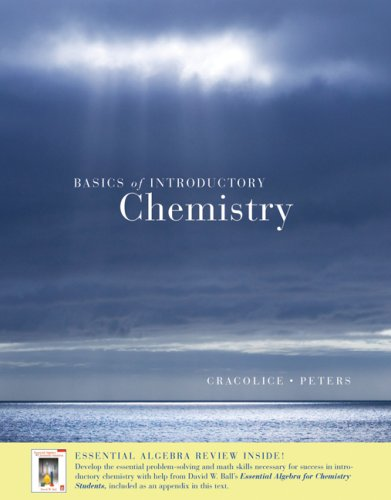 Basics of Introductory Chemistry with Math Review (with Printed Access Card ThomsonNOW )   2007 9780495119111 Front Cover