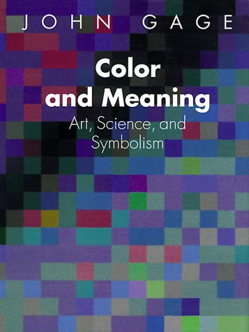 Color and Meaning Art, Science and Symbolism  2000 edition cover