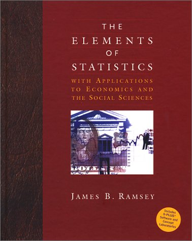 Elements of Statistics with Applications to Economics and the Social Sciences   2002 edition cover