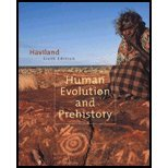 Human Evolution and Prehistory  6th 2003 9780534610111 Front Cover