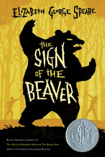 Sign of the Beaver   1983 edition cover