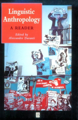 Linguistic Anthropology A Reader  2001 edition cover