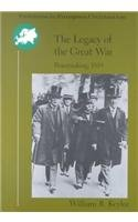 Legacy of the Great War Peacemaking 1919  1998 edition cover