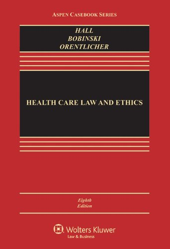 Health Care Law and Ethics  8th 2013 (Revised) edition cover