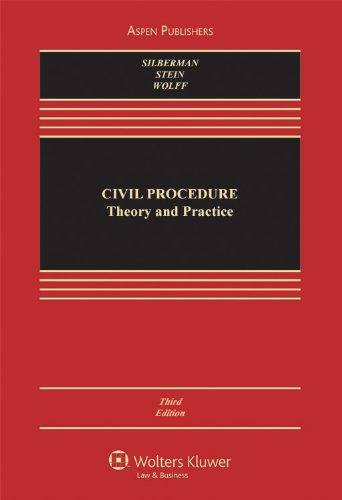 Civil Procedure Theory and Practice, Third Edition 3rd 2009 (Revised) edition cover
