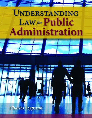 Understanding Law for Public Administration   2011 (Revised) edition cover