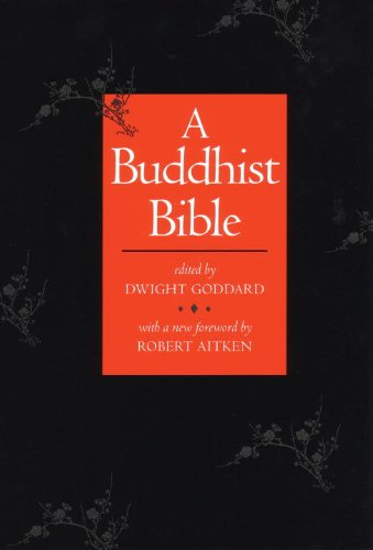 Buddhist Bible 2nd 1966 9780807059111 Front Cover