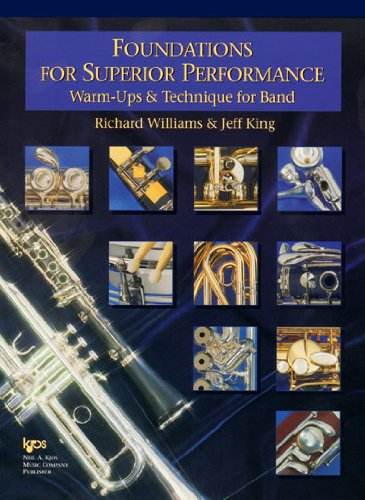 Foundations for Superior Performance : Baritone Saxophone N/A edition cover