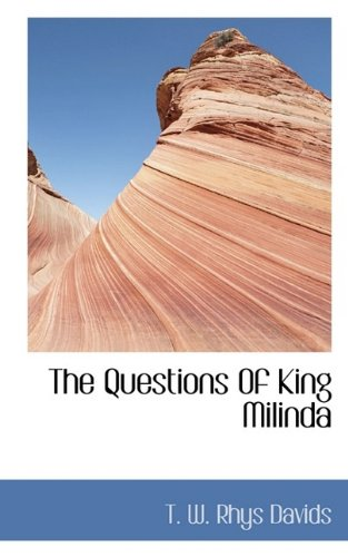 Questions of King Milind  N/A 9781116561111 Front Cover