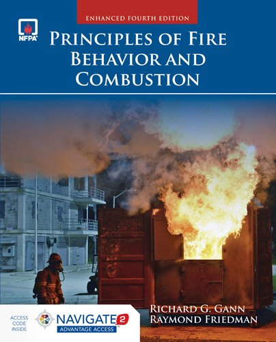 Principles of Fire Behavior and Combustion:   2016 9781284136111 Front Cover