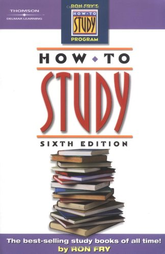 How to Study  6th 2005 (Revised) edition cover