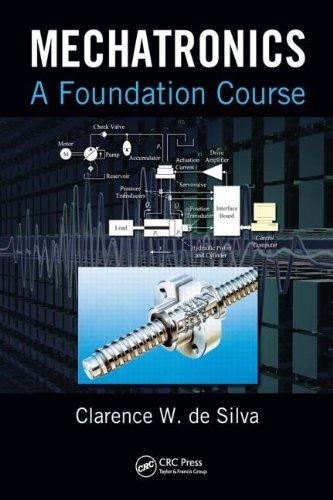 Mechatronics A Foundation Course  2010 9781420082111 Front Cover