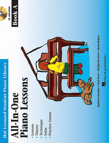 All-in-One Piano Lessons  N/A 9781423461111 Front Cover